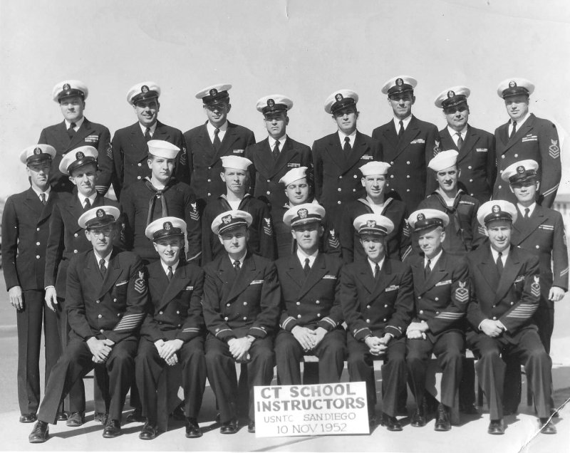 NTC San Diego CT School Instructors - 10 Nov 1952