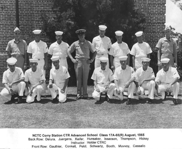 Corry Field CT School Advanced Class 17A-65(R) Aug 1965 - Instructor:  CTRC Holder