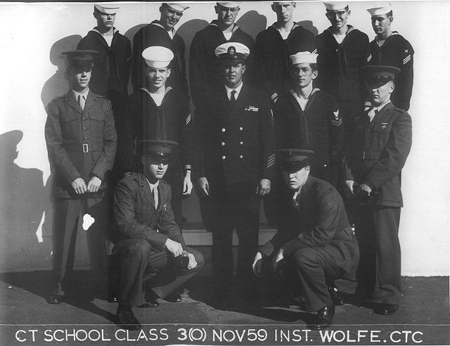 Imperial Beach (IB) Class 3(O) Nov 1959 - Instructor CTC Wolfe