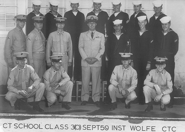 Imperial Beach (IB) Class 3(O) Sept 1959 - Instructor CTC Wolfe