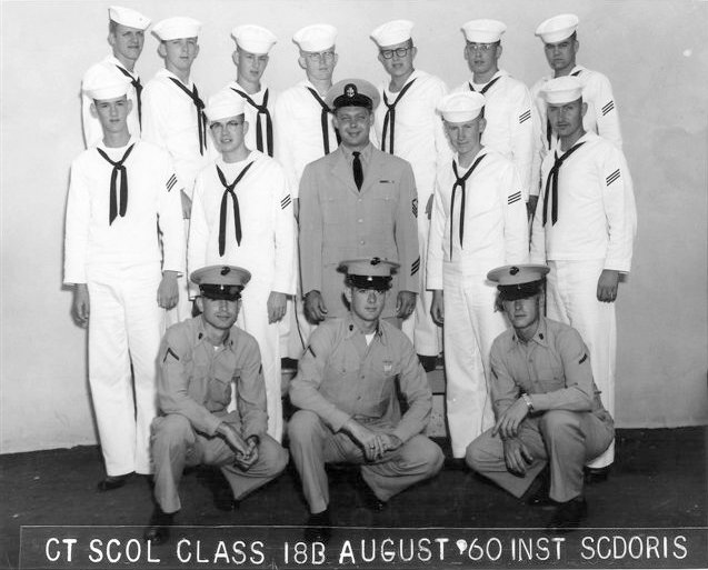 Imperial Beach (IB) Adv. Class 18B-60(R) August 1960 - Instructor CTC Scdoris