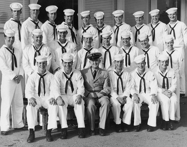 Imperial Beach (IB) Basic Class ?-55(R) June 1955 - Instructor CTC Lien
