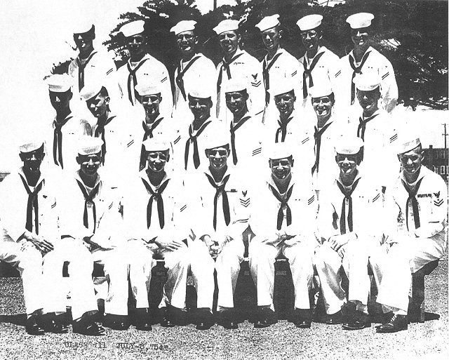 Imperial Beach CT School Basic Class 11-54(R)  -  July 1954