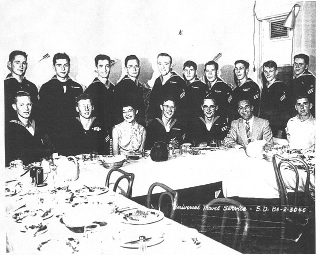 IB Combined Adv. Class 1-55(R) and X-55(?) - October 1954