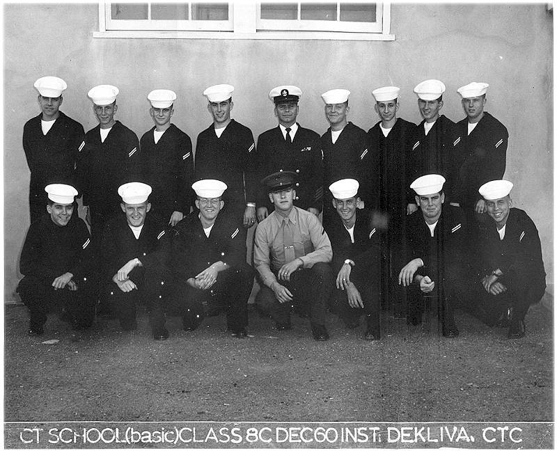 Imperial Beach (IB) Basic Class 8C-61(R) Dec 1960 - Instructor CTC Dekliva