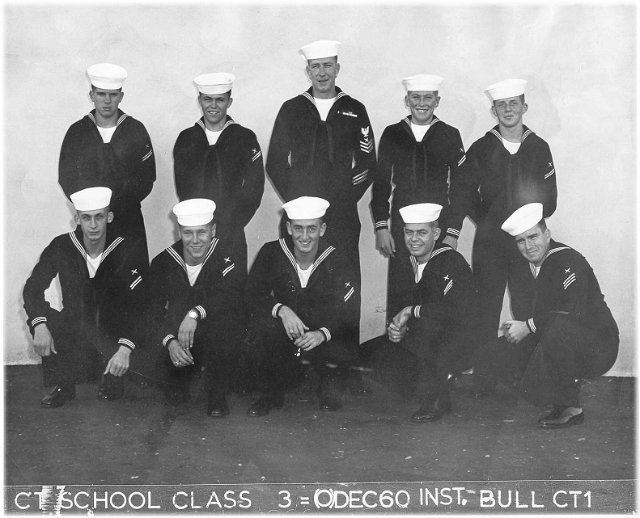 Imperial Beach (IB) Class 3-61(O) Dec 1960 - Instructor CT1 Bull