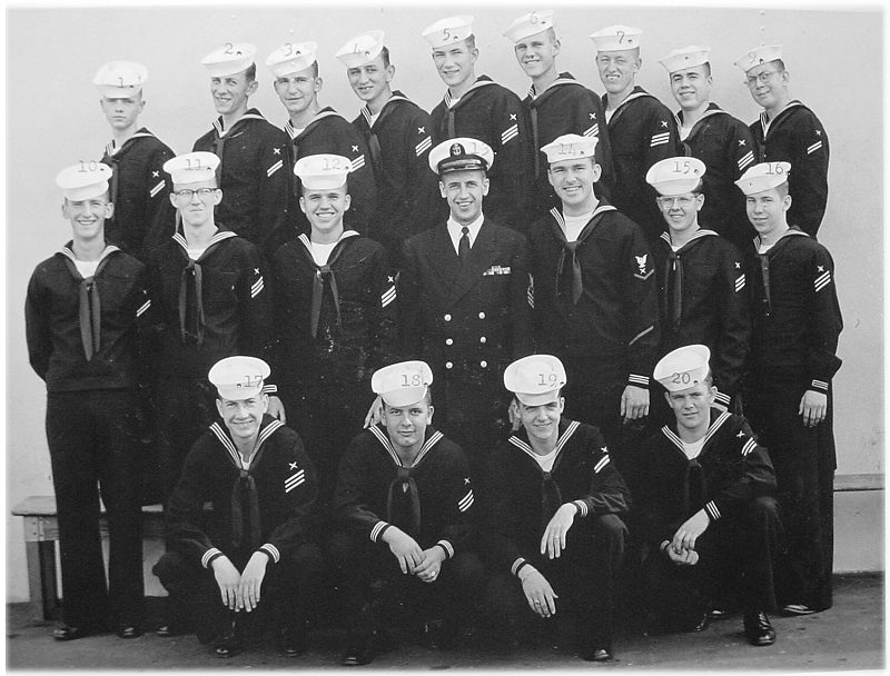 Imperial Beach (IB) Advanced Class 7C-57(R) March 1957 - Instructor CTC Kunze