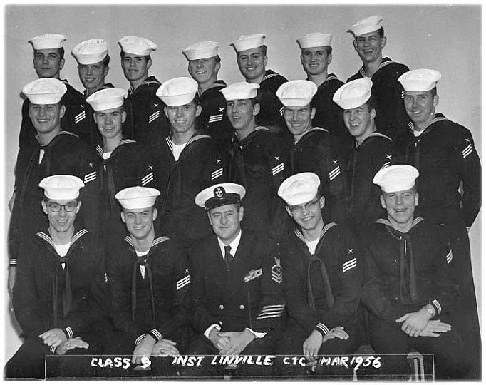 Imperial Beach (IB) Advanced Class 9-56(R) March 1956 - Instructor CTC Linville