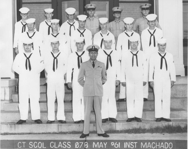 Corry Field CT School Basic Class 07B May 1961 - Instructor:  CTC Machado