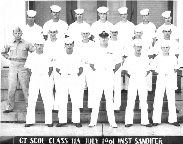 Corry Field CT School Basic Class 11A-61(R) July 1961 - Instructor:  CTC Sandifer