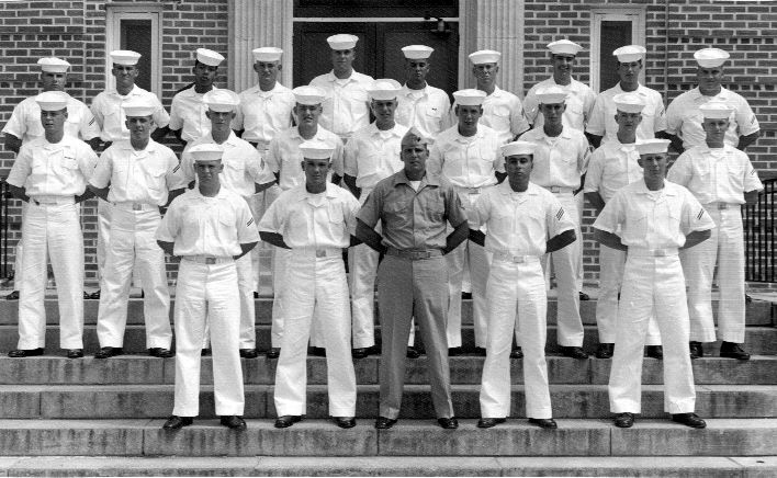 Corry Field CT School Adv. Class ?-66(R) August 1966 - Instructor:  SGT Wood (USMC)