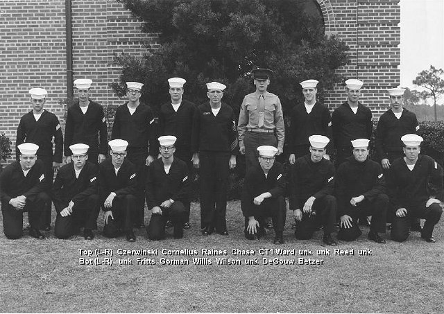 Corry Field Adv. Class ??-65(R) Jan 1965 - Instructor: CT1 Ward