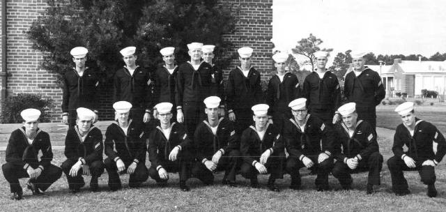 Corry Field CT School Adv. Class 22D-67(O) Feb 28, 1967 - Instructor:  CT1 Robert R. Adams