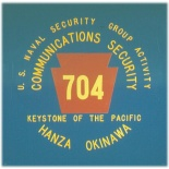 US Naval Security Group Activity, Hanza, Okinawa - COMSEC 704