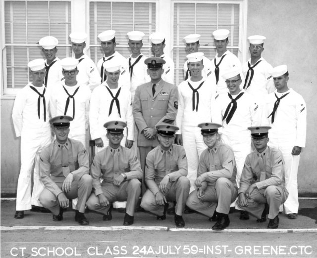 Class 24A-59(R) July 1959 - Instructor CTC Greene