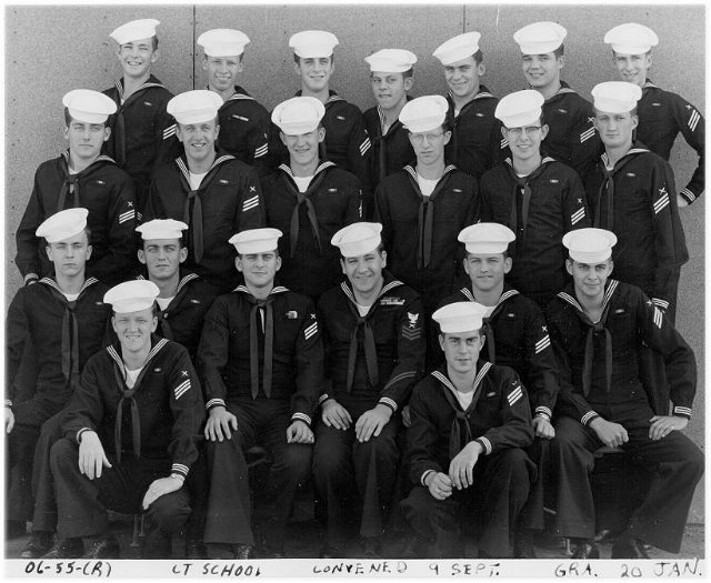 Imperial Beach (IB) Advanced Class 6-55(R) Jan 1955 - Instructor CT1 Herbert Champion