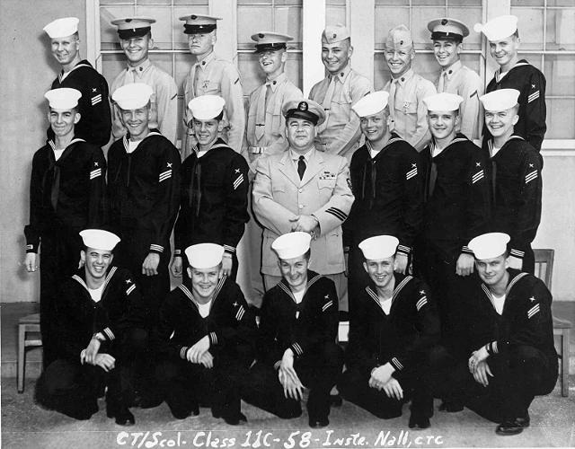 Imperial Beach (IB) Adv. Class 11C-58(R) May 1958 - Instructor: CTC Nall
