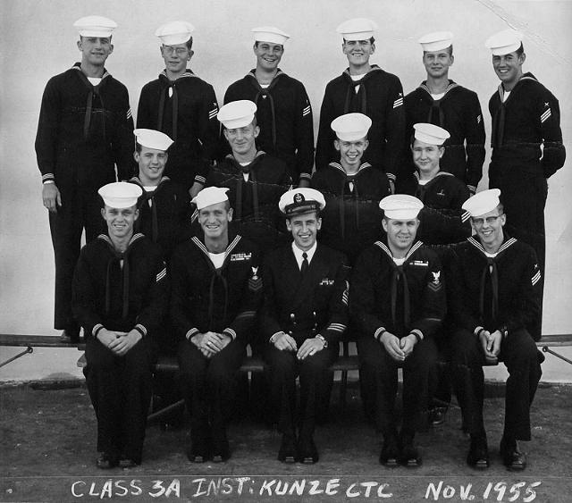 Imperial Beach (IB) Adv. Class 3A-56(R) Nov 1955 - Instructor: CTC Kunze