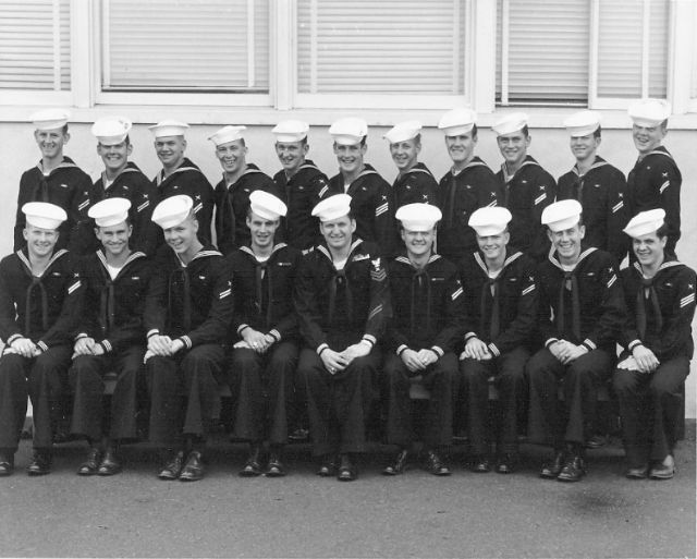 Imperial Beach (IB) Basic Class ?-56(R) Dec 1955 - Instructor: CT1 J. E. Montgomery