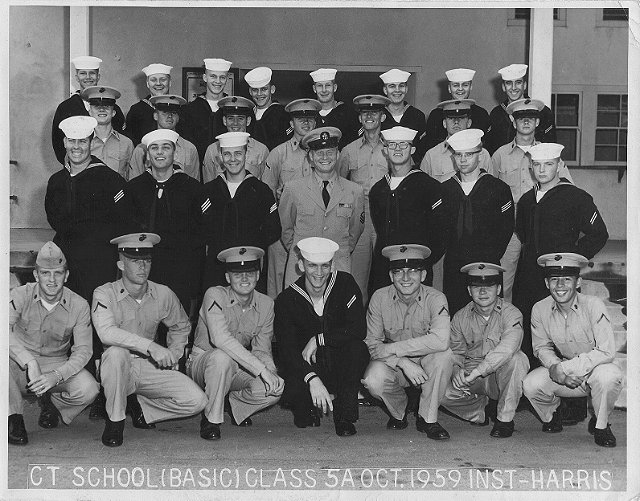 Imperial Beach (IB) Basic Class 5A-60(R) Oct 1959 - Instructor CTC Harris