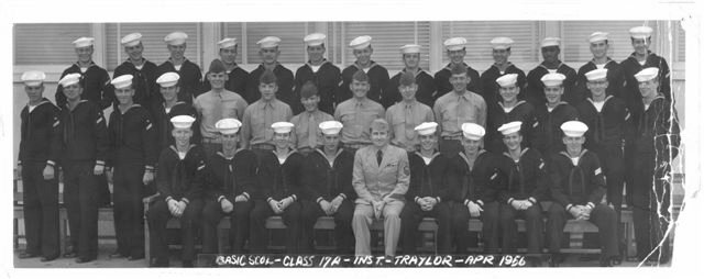 Imperial Beach (IB) Basic Class 17A-56(R) April 1956 - Instructor CTC Traylor