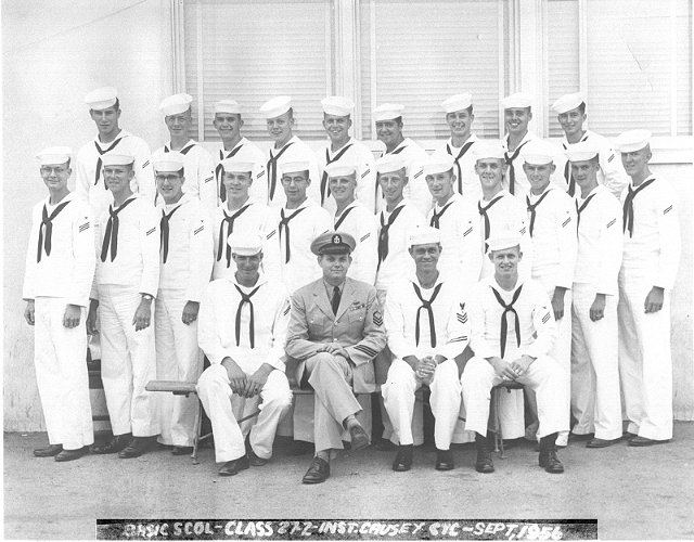 Imperial Beach (IB) Basic Class 27-2-56(R) Sep 1956 - Instructor CTC Causey
