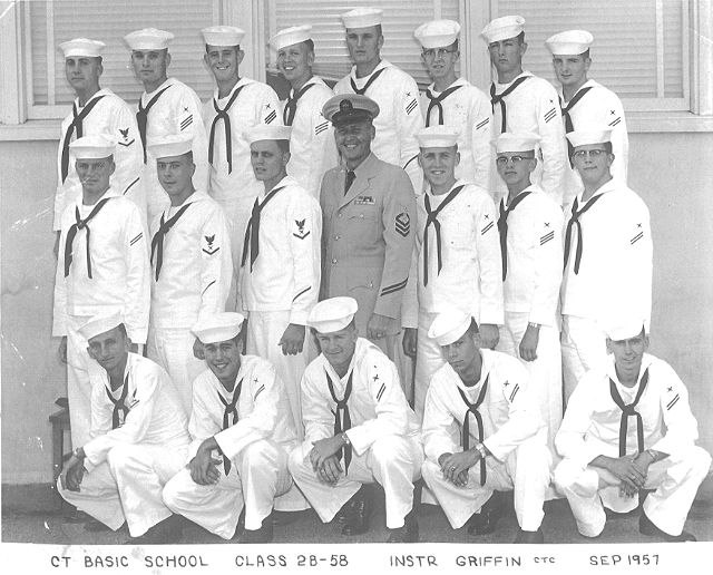 Imperial Beach (IB) Basic Class 2B-58(R) Sept 1957 - Instructor CTC Griffin