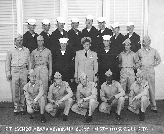 Imperial Beach CT School Basic Class 4A-60(R) Oct 1959 - Instructor CTC Harrell