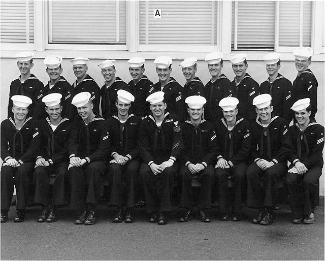 Imperial Beach (IB) Basic Class ?-55(R) December 1954 - Instructor CT1 J.E. Montgomery