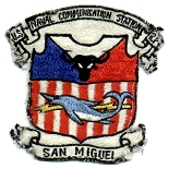 US Naval Communications Station, San Miguel, Philippines