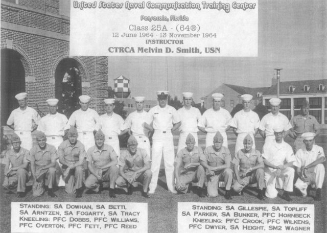 Corry Field CT School Advanced Class 25A Nov 1964 - Instructor:  CTCA Melvin D. Smith