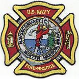 Winter Harbor fire-rescue patch
