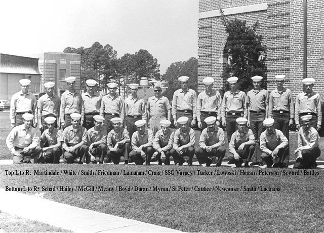 Corry Field CT School Advanced CTR Class of 1 May 1970 - Instructor: SSGT Varney (USMC)
