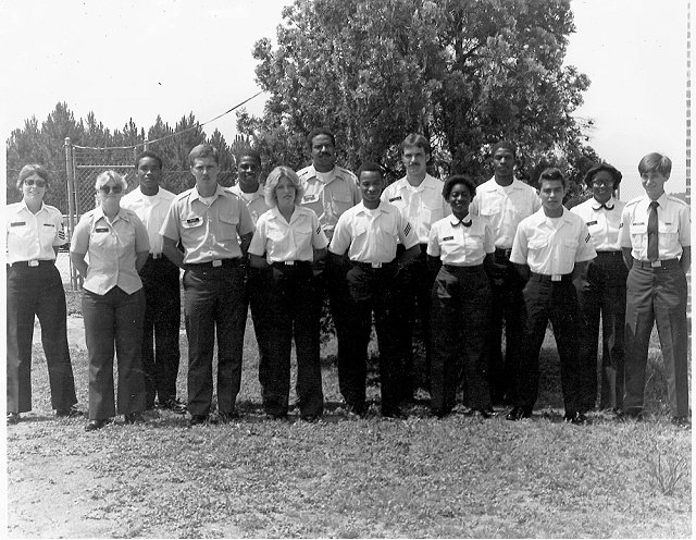 Corry Station Non-Morse Prep class of June 18, 1982 - Instructor Unknown