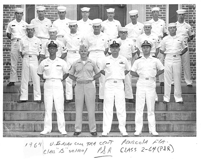 Corry Field CT School Class 02-64(P/R) March 1964 - Instructors: Unknown