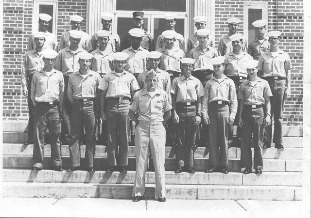 Corry Field (CTR) Advanced Class - July 1970 - Instructor GYSGT Wagner (USMC)