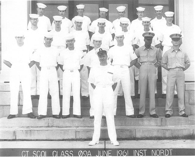 Corry Field CT School Basic Class 09A-61(R) June 1961 - Instructor: CTC Nordt