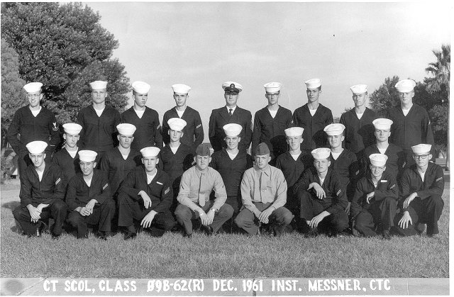 Corry Field (CTR) Basic Class 09B-62(R) Dec 1961 - Instructor CTC Messner