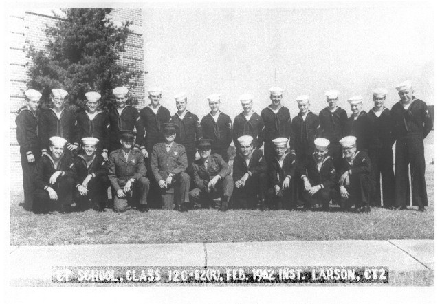 Corry Field CT School Basic Class 12C-62(R) Feb 1962 - Instructor: CT2 Larson