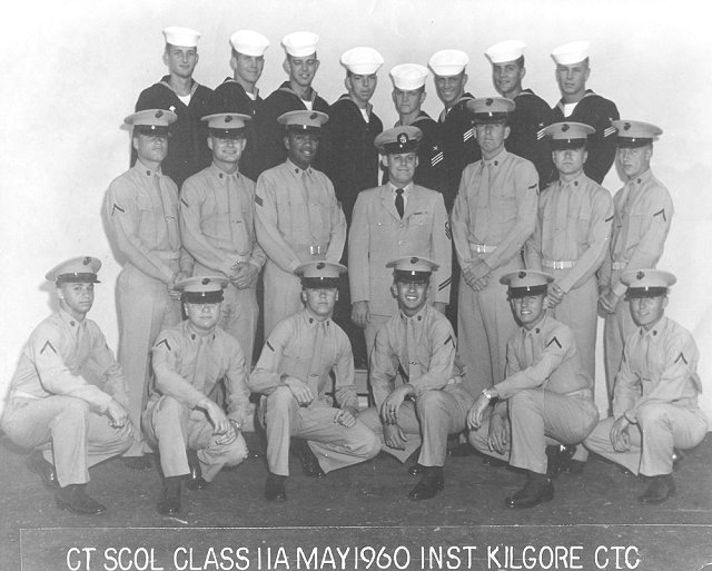 Imperial Beach (IB) Advanced Class 11A-60(R) May 1960 - Instructor CTC Kilgore