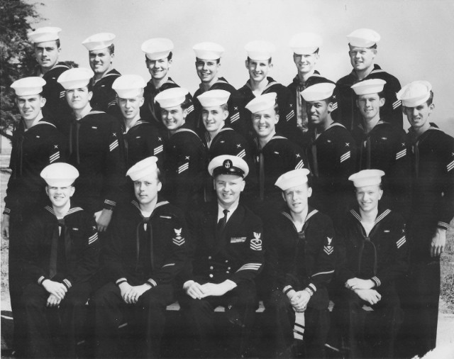 Imperial Beach (IB) Advanced Class ??-55(R) May 1955 - Instructor CTC D.P. Callahan