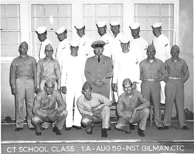 Imperial Beach (IB) Basic Class 1A-60(R) Aug 1959 - Instructor CTC Gilman