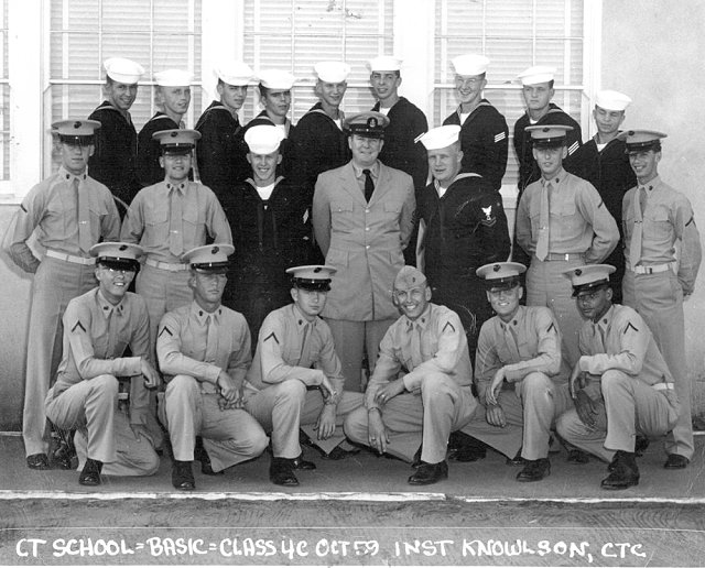 Imperial Beach CT School Basic Class 4C-60(R) October 1959 - Instructor CTC Knowlson