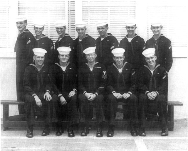 Imperial Beach (IB) Basic Class ?-54(R) May/Jun 1954 - Instructor: CT1 C.W. Graves