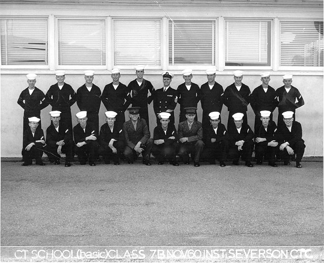Imperial Beach (IB) Basic Class 7B-61(R) Nov 1960 - Instructor: CTC Severson