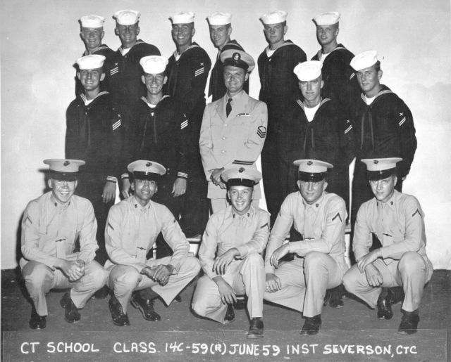 Imperial Beach (IB) Adv. Class 14C-59(R) Jun 1959 - Instructor CTC Severson