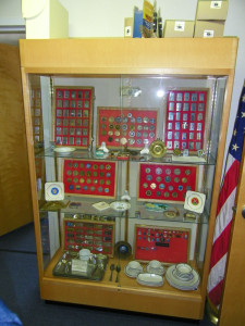 Lighter and Challenge Coin Display