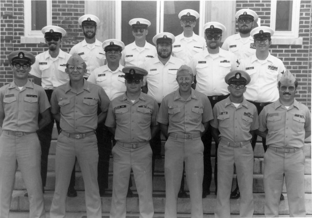 CCSOC/TACSOC Instructors Corry Station 1982