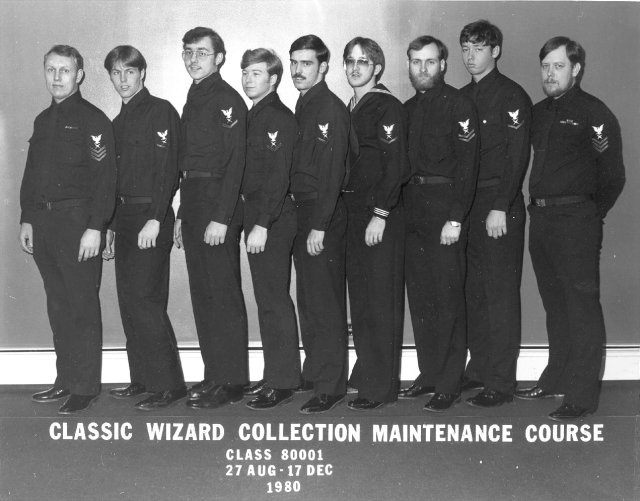 Winter Harbor Classic Wizard Collection Maint Class 80001 of 27-Aug - 17 Dec 1980 - Instructor: Unknown