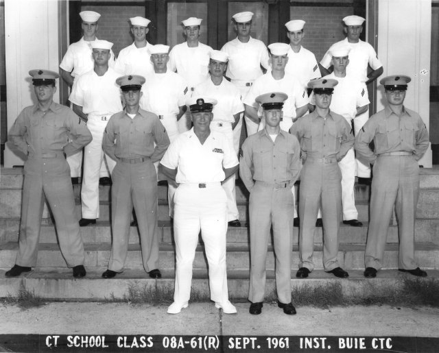Corry Field CT School CTR Advanced Class 08A-61(R) Sep 1961 - Instructor: CTC Buie